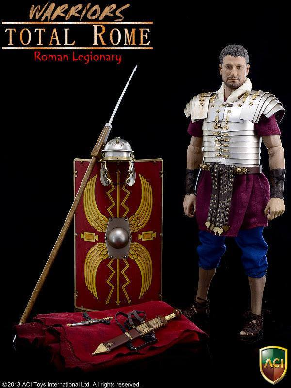 Aci Toys Warriors Series Total Rome Roman Legionary Aci14a