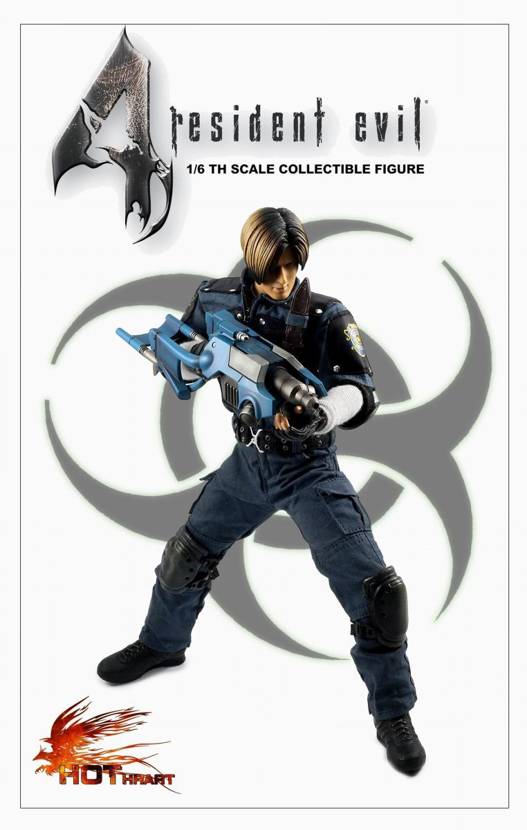 HOT HEART RESIDENT EVIL 1/6 SCALE ACTION FIGURE R.P.D ...