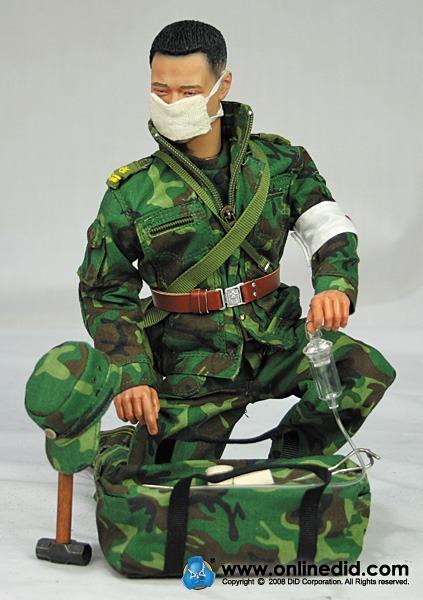 1//6 Scale DID Action Figures IV Bag PLA Medical Service