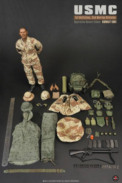 Soldier Story Ss 071 2nd Marine Division Operation Desert