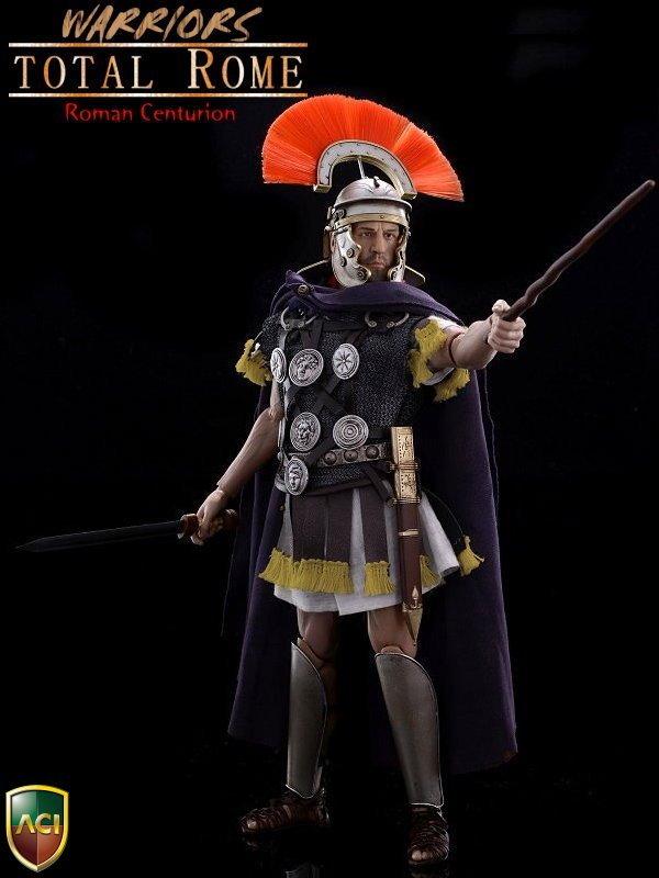 Aci Toys Warriors Series Total Rome Roman Centurion Aci05b