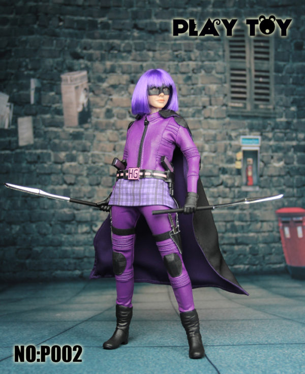 Play Toy Purple Girl Sixth Scale - Kick Ass 2 Hit Girl