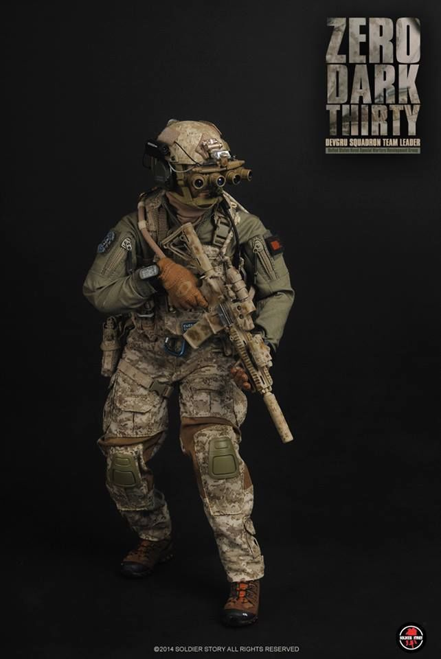 Soldier Story 1 6 Ss084 Zero Dark Thirty Devgru Squadron