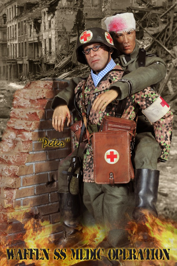 Did 1  6 D80100 Waffen Ss Medic Operation