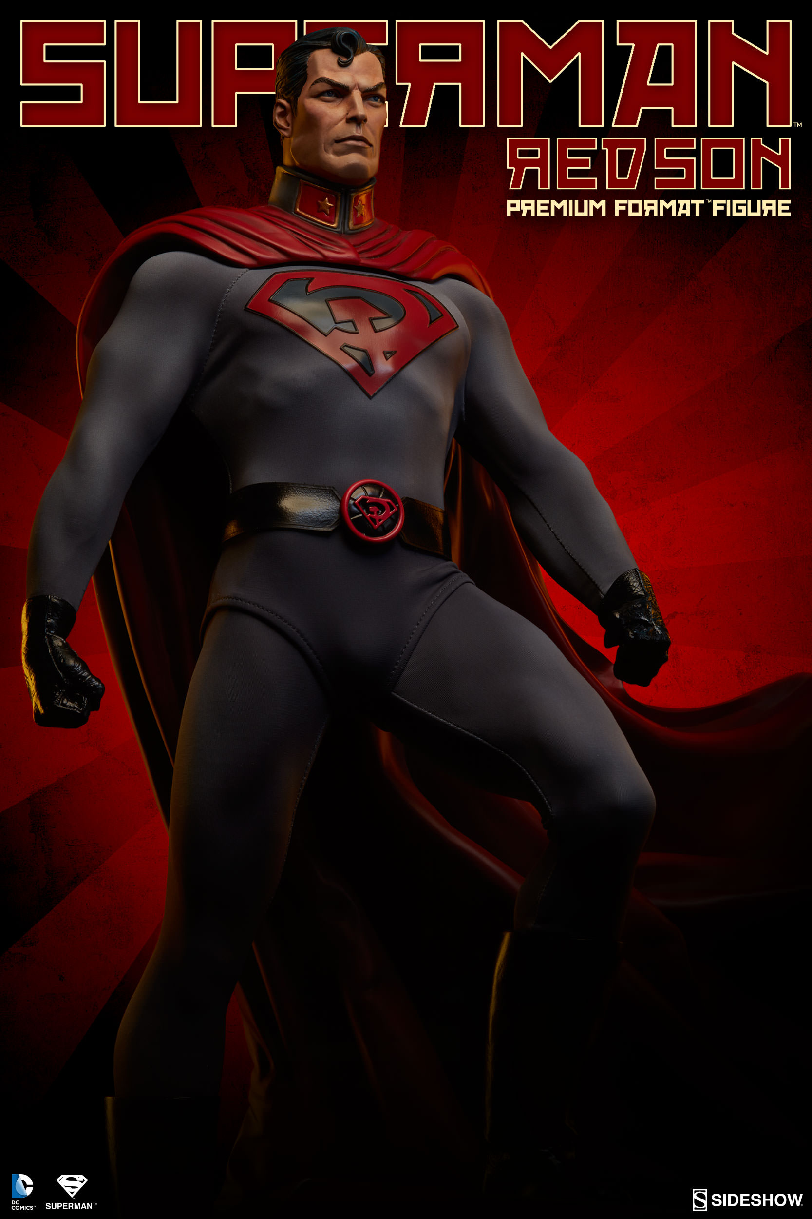 Superman Red Son Statue Premium Format Figure By Sideshow Collectibles Fairway Hobbies