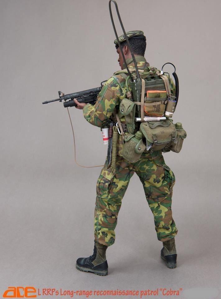 Ace LRRPs Cobra dog tags 1//6 scale toys bbi dragon GI Joe soldier Vietnam dam
