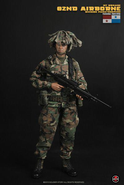 1//6 Scale Soldier story SS089 82nd Airborne Division Paratroopers PANAMA1989-90