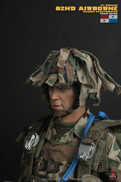 PANAMA1989-90 1//6 Scale Soldier story SS089 82nd Airborne Division Paratroopers