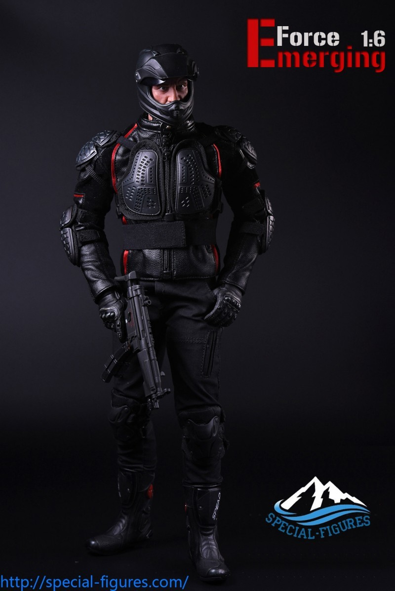 MP5 Submachine Gun 1//6 Scale Special Action Figures Emerging Force