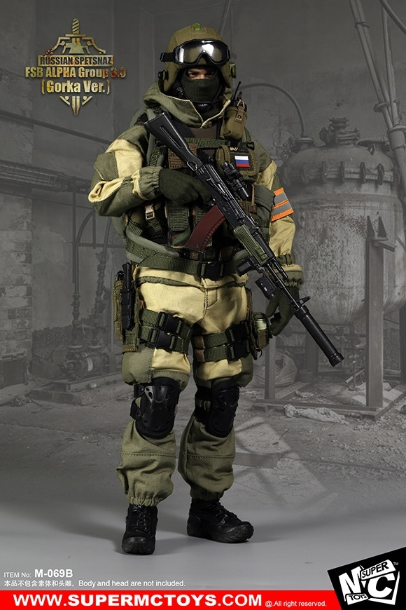 Russian Spetsnaz FSB Alfa Group 30 Gorka Version 1 6