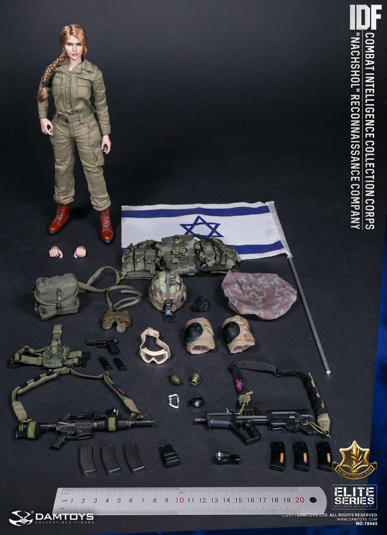 NVG Goggles for Dam 78043 IDF Combat Intelligence Collection Corps Nachshol 1:6
