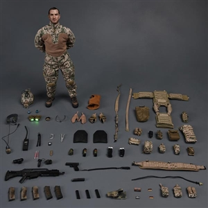 Kommando Spezialkrafte Marine Sunglasses Soldier Story Figures 1//6 Scale