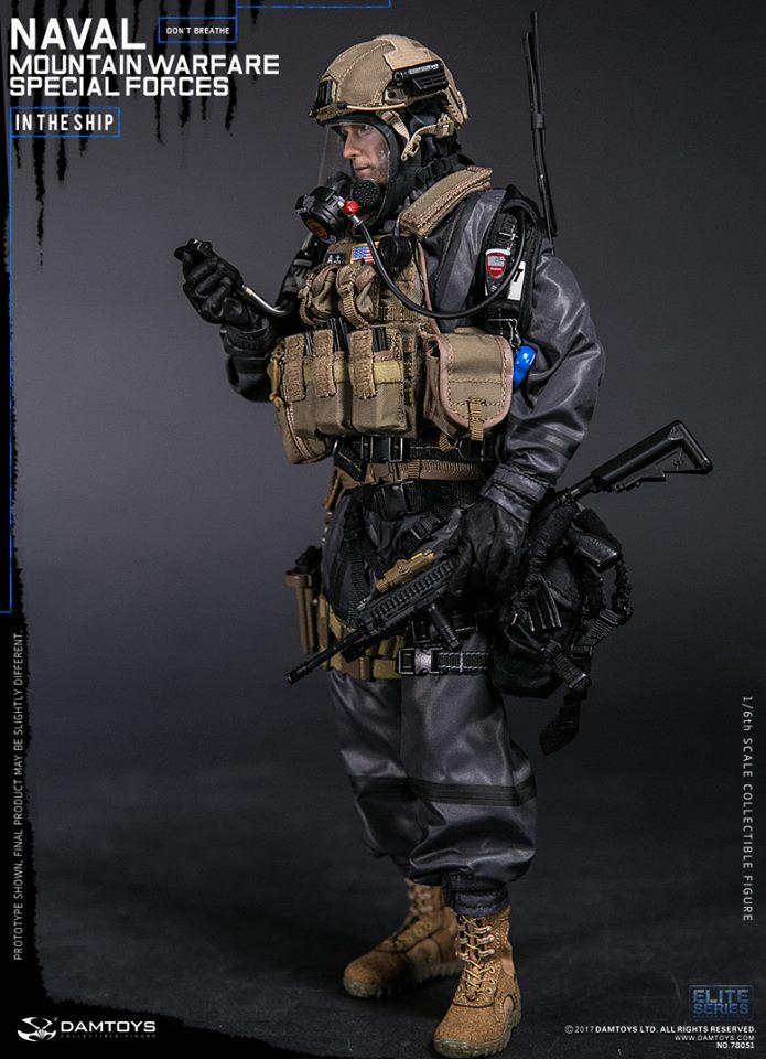 "DAMTOYS 78051 1//6 Naval Mountain Warfare Special Forces 12/"" Figure Radio Belt"