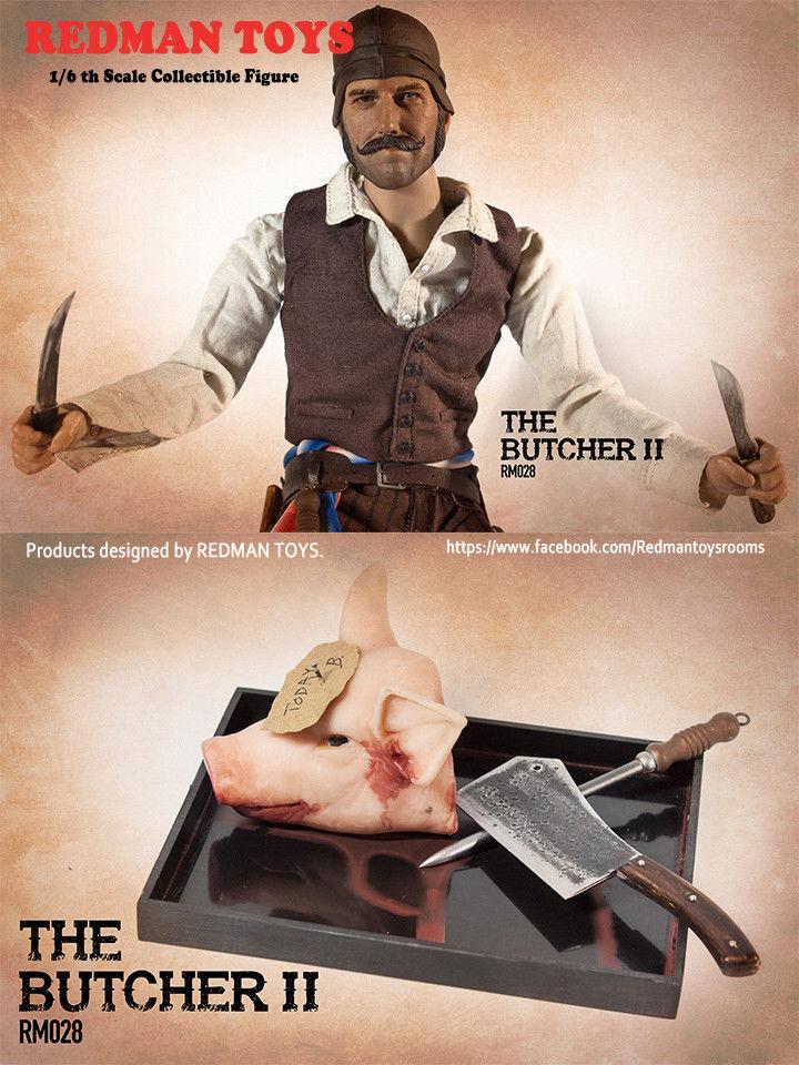 Butcher II 1//6 Scale Meat Pick w// Hook Redman Action Figures