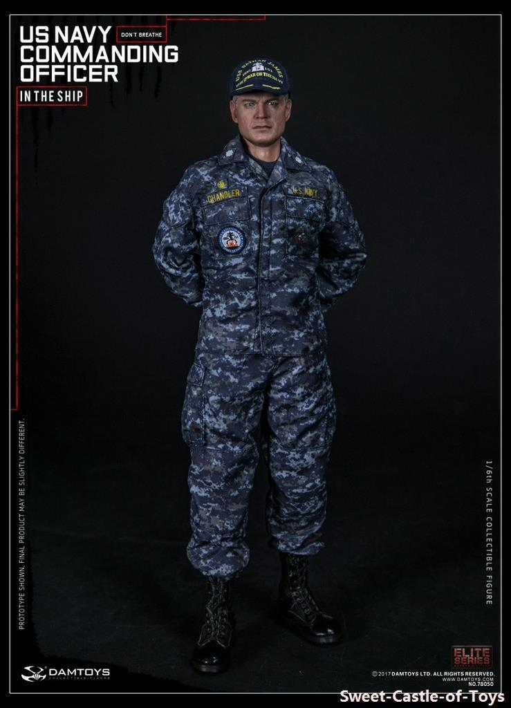 1//6 Scale Toy US Navy Commanding Officer Air Pack System