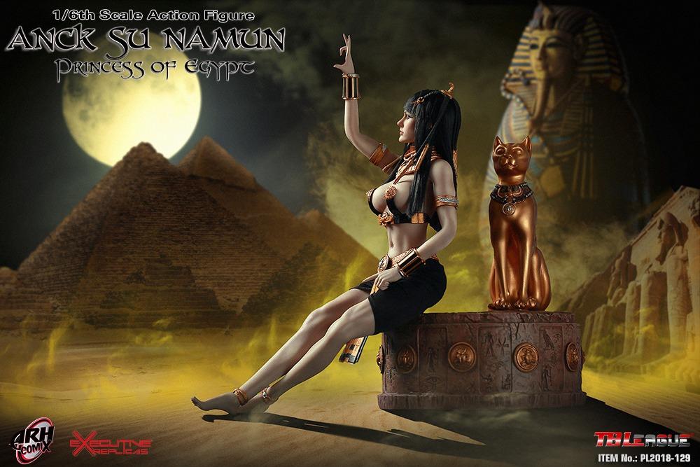1//6 TBLeague PL2018-129 Anck Su Namun Princess of Egypt Action Figure Khopesh