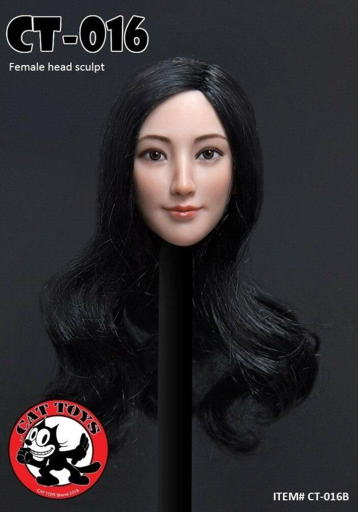 1:6 Scale DSTOYS Female Short Hair Head Sculpt F/Women