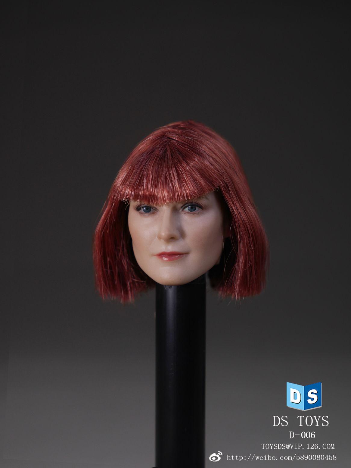 1:6 Scale DSTOYS D-006 Female Short Hair Head Sculpt