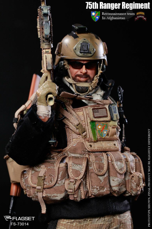 "FLAGSET FS 73014 1//6th US 75th Ranger Regiment uniform model F 12/"" Figure"