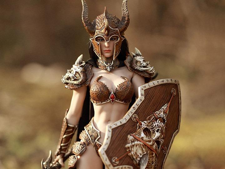 TBLeague PL2019-137 1//6 Soldier Strange Female Warrior Figure Shoulder Armors