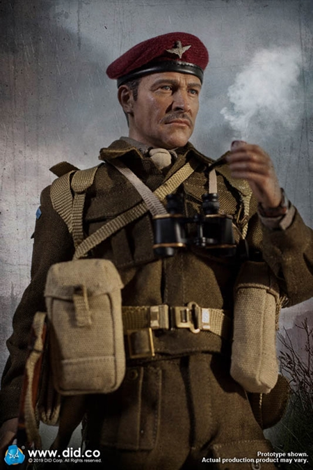 1//6 Scale DID K80135 WWII British Airborne Red Devil Commander Roy Bag