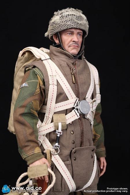 DID Dragon In Dreams 1:6TH échelle WW2 British 1ST Airborne Parachute de Roy