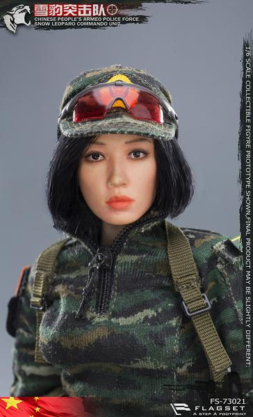 Googles for FLAGSET FS 73021 Chinese Snow Leopard Commando Female Sniper 1//6