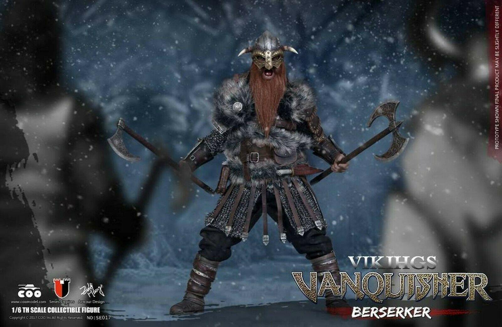 1//6 scale Toy Viking Vanquisher Berserker Bull Helmet
