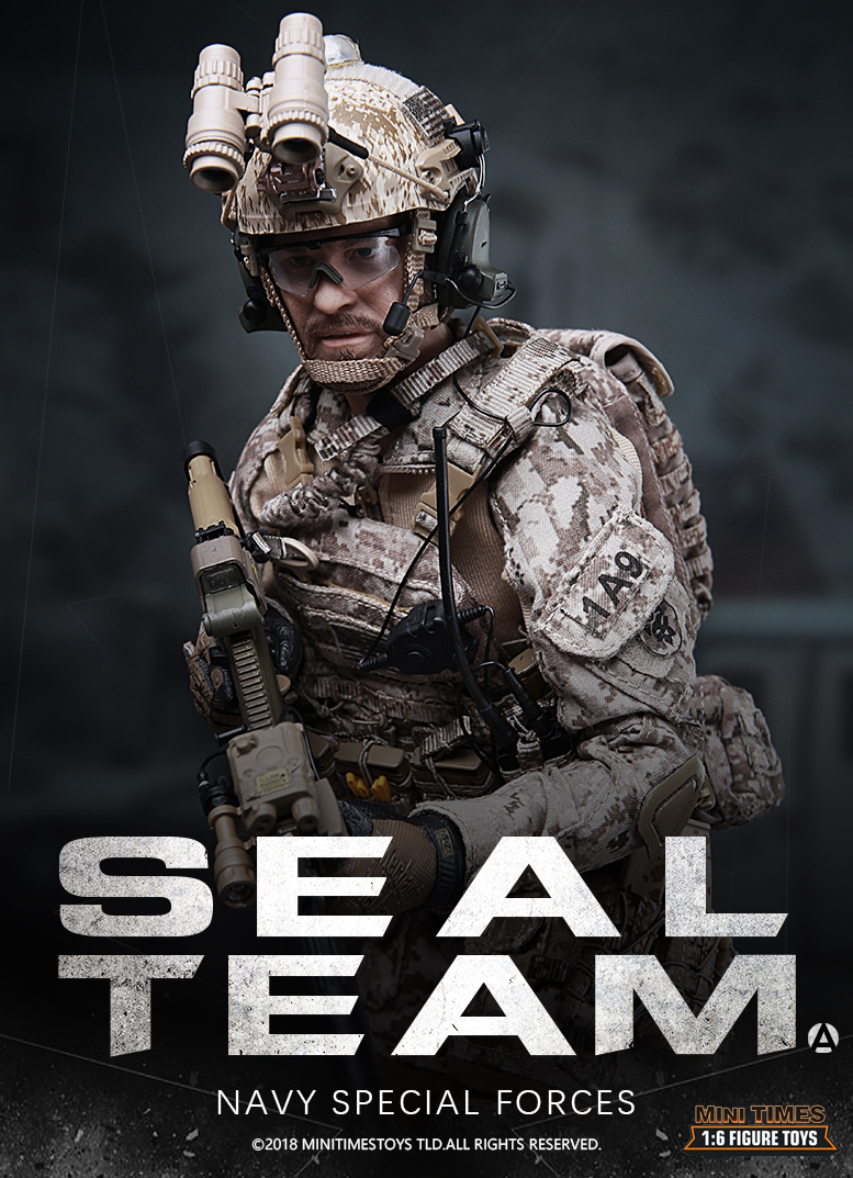 Mini Times M012 US Navy Special Forces Seal Team 1//6 Action Figure INSTOCK