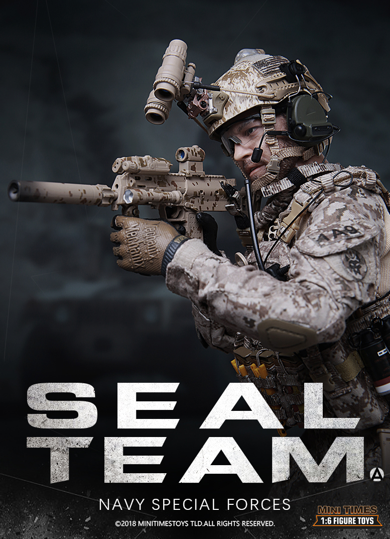 Mini Times toys MT-M012 US Navy Special Forces Seal Team 1//6 Figure