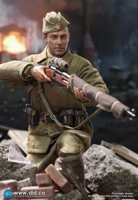 DID 1//6 Scale Soviet Russian WWII Stalingrad Vasily Zaytsev Sniper Jacket