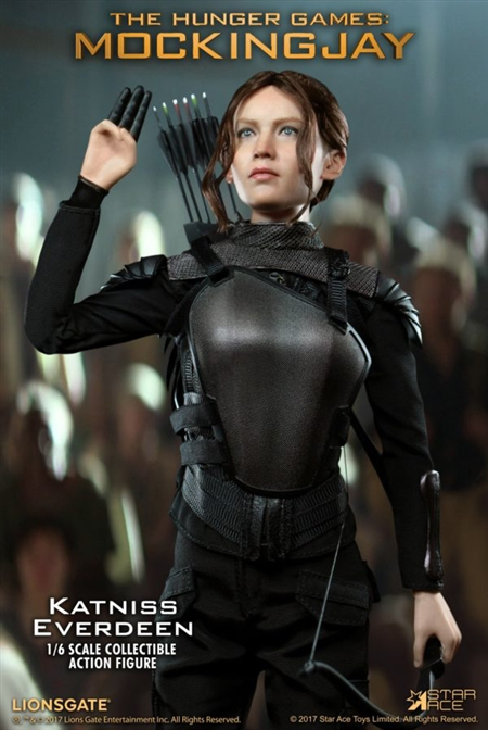 Star Ace Hunger Games Mockingjay Katniss Everdeen Leg Armor loose 1//6th scale