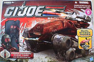 GI Joe 30th Cobra Crimson Hiss Tank MISB Dela2365