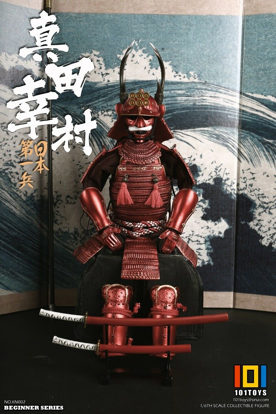 101 Toys Action Figures Long Spear Japan/'s First Soldier Sanada 1//6 Scale