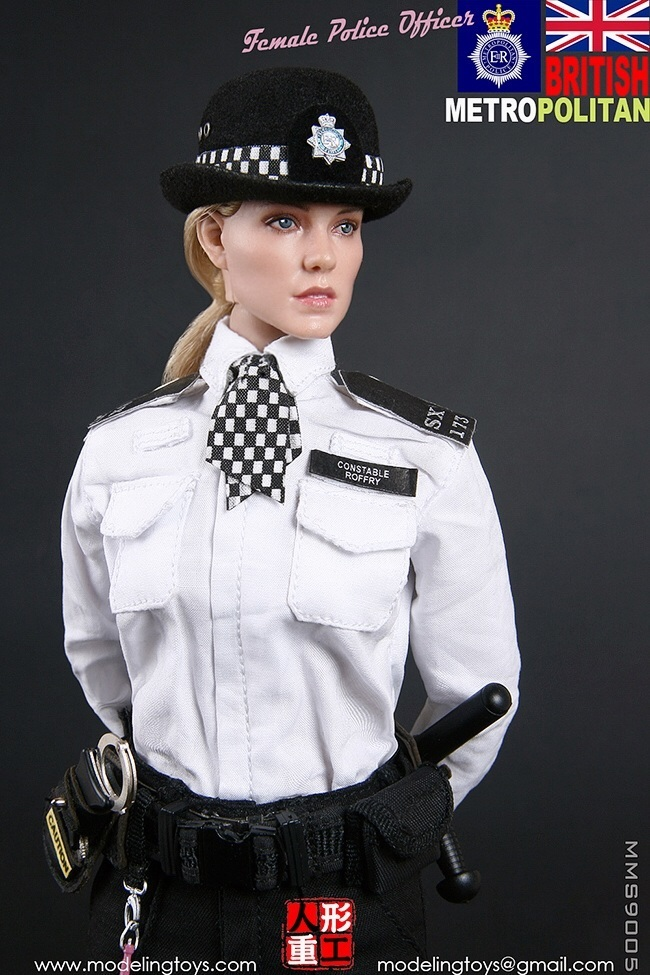 1//6 MMS9005 BRITISH METROPOLITAN POLICE SERVICE MPS FEMALE POLICE Long coat