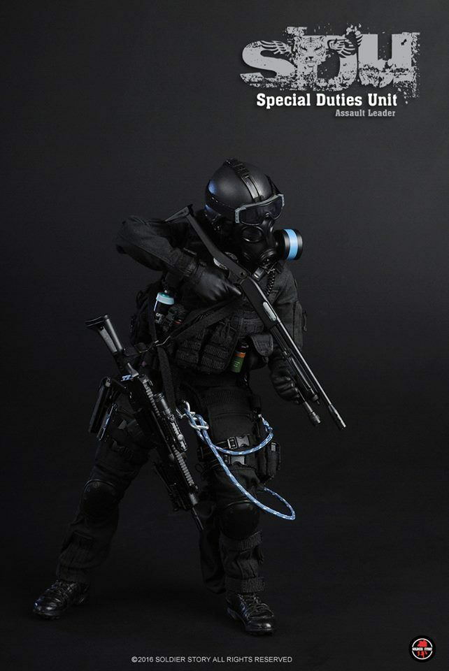 Special Duties Unit-Watch /& Gear 1//6 Scale-Modeling Toys Action Figures