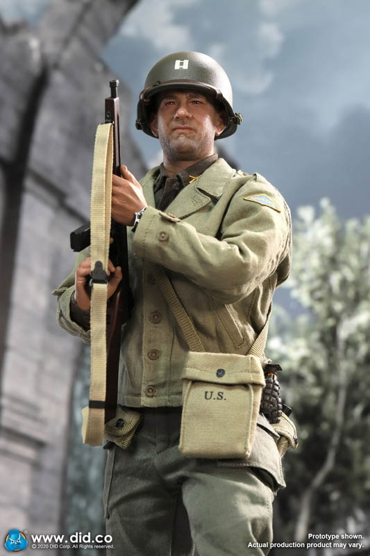 1//6 Scale Action Figure Stand Saving Private Ryan #03