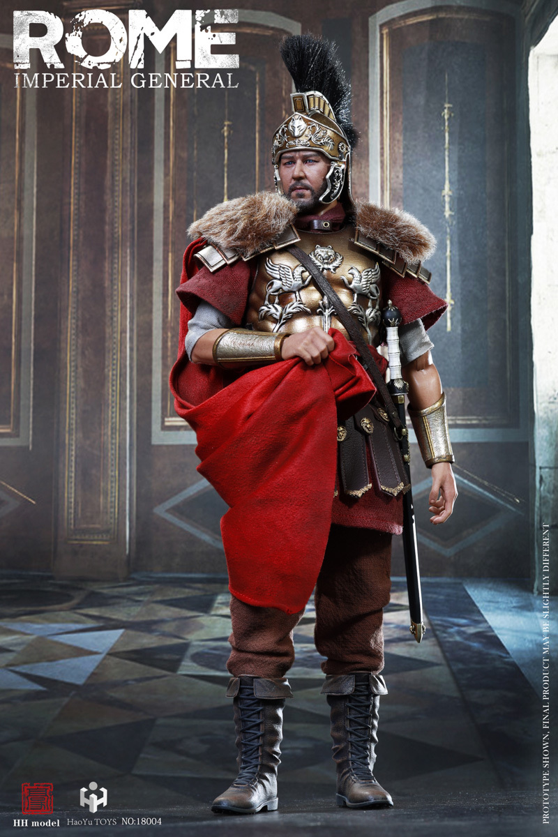 HH Model HaoYuTOYS HH18006 1//6 Imperial Army Imperial General Figure Helmet Red