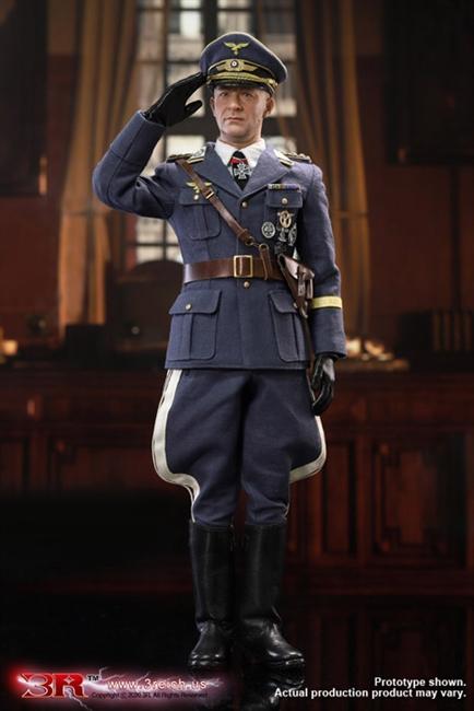 DID 3R GM644 1//6 Father of Paratroopers Kurt Arthur Benno STUDENT Uniform Set