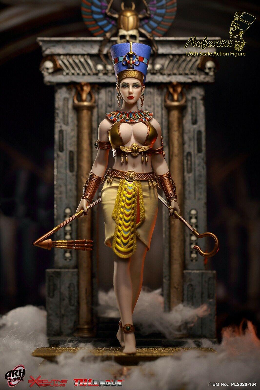 TBLeague PL2020-164 Nefertiti Queen of Egypt 1//6 Head Carving Model Accessory